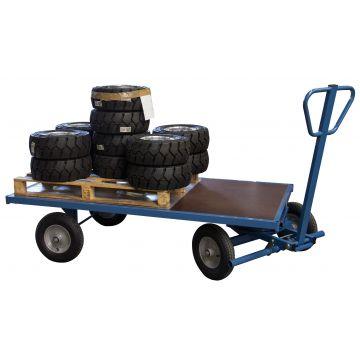 Chariot à traction manuelle