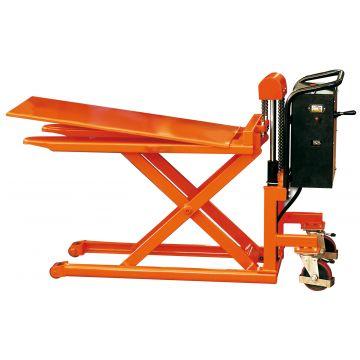 Transpalette semi-electrique haute levée 1000 kg