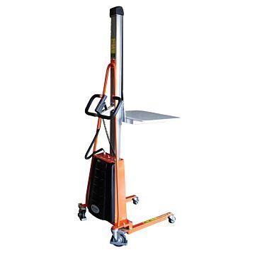 Gerbeur positionneur semi-électrique 100 et 150 kg