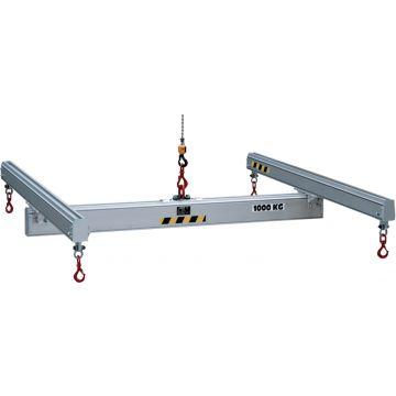 Palonnier en H - aluminium fixe ou réglable