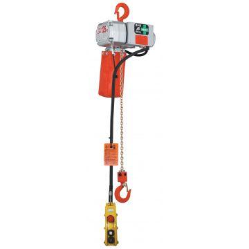 Mini-palan électrique à chaîne fixe à crochet