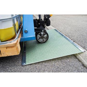 Rampe composite de passage de trottoirs