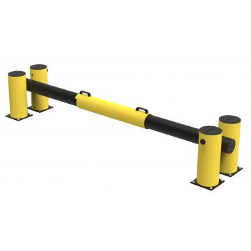 Barriere de quai pour rampe de chargement