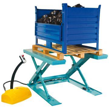 Table élévatrice extra-plate Ergo-lift