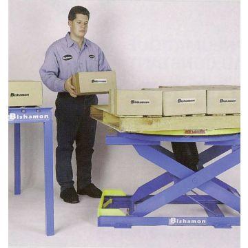 Table pneumatique à niveau constant