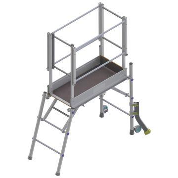 Plateforme individuelle roulante aluminium