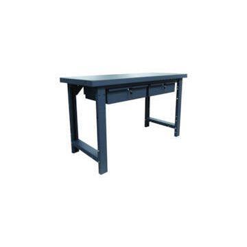 Établi plateau acier ou bois + tiroirs