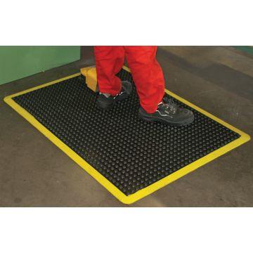 Tapis ergonomique pour zones de sécurité