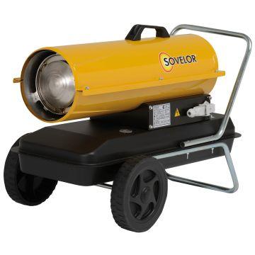 Chauffage mobile air pulsé au fuel, gasoil, pétrole, GNR