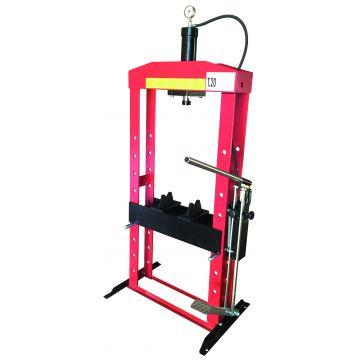 Presse hydraulique sur bâti