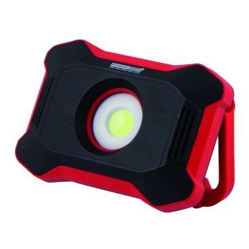 Projecteur rechargeable COB 10 W 1100 lumens