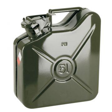 Jerrycan carburant métal
