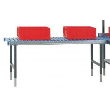 Table de conditionnement ergonomique à rouleaux