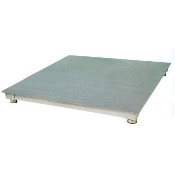 Balance plate-forme au sol en acier avec indicateur inox
