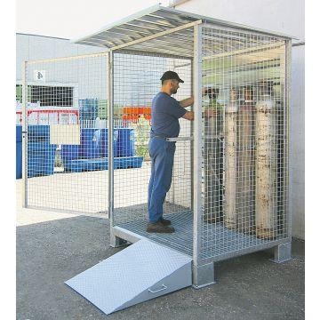 Box de stockage extérieur pour bouteilles de gaz