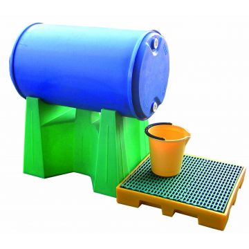 Support de fût 220 litres amovible