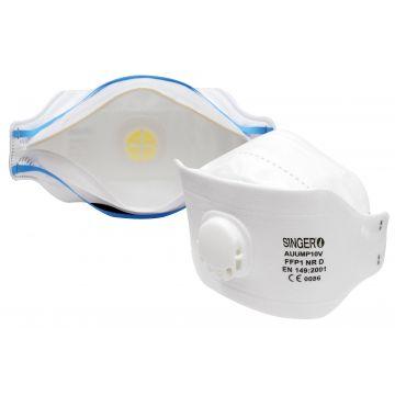 Demi-masque respiratoire confort jetable pliable