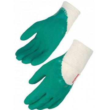 Gants latex vert