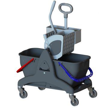 Chariot de lavage + accessoires