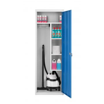Armoire monobloc rangement/aspirateur