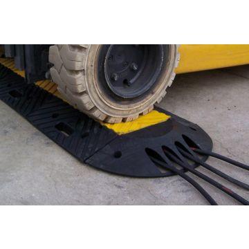 Protège câbles modulaire avec capot de protection