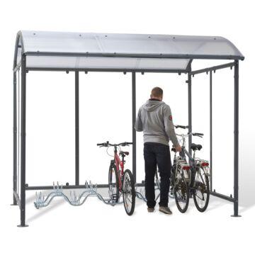 Abri vélos Dôme