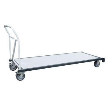 Chariot porte tables rectangulaires