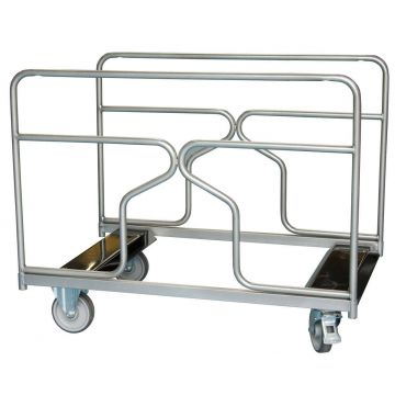 Chariot porte tables rondes