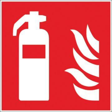 Panneau d'incendie 200 x 200 mm