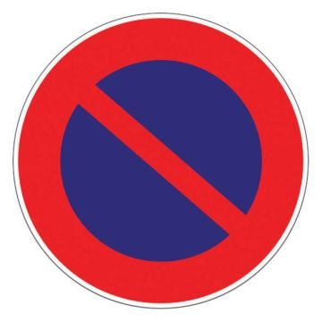 Panneau d'interdiction Ø 300 mm