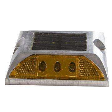 Plot solaire à LED et réflecteur de route